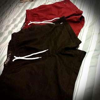 2x Summer Shorts