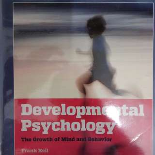 NTU HP2300 - Developmental Psychology Textbook (Hard copy + soft copy)