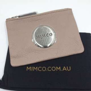 Mimco Pouch: Brown