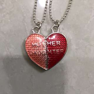 Mother & Daughter Necklace Gift Set.