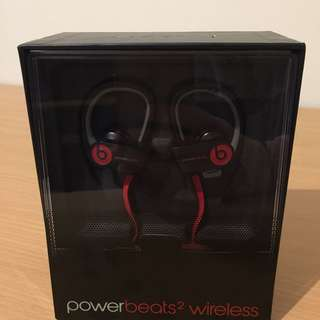 Apple Beats by Dr. Dre Powerbeats 2 Wireless Bluetooth Headphones + Accessories