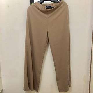 Wide Work Pants