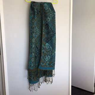 #thecafe Paisley Scarf Cotton