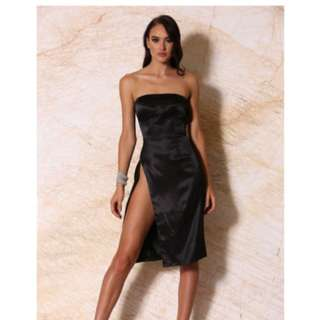 Meshki Alayna Stain Black Dress Rent