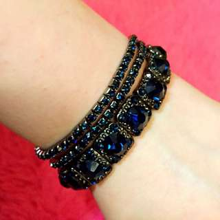 藍石手鍊 手鏈 Blue Diamond Bracelet Accessories Accessory Ball Banquet Casual