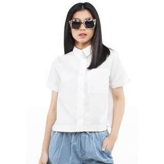 Cottonink - Short Sleeved Offwhite Karlie (S)