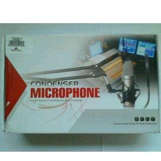 BM 800 Condenser Microphone dengan Shock Proof Mount berkualitas Murah