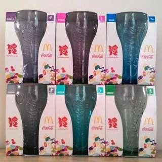 麥當勞 2012 可口可樂 奧運玻璃杯