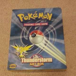 Pokemon Trading Card Game Thunder Box Gift Box- The Advanced Level