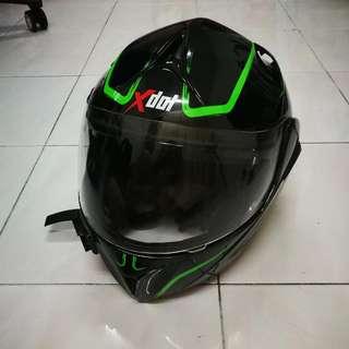 X-Dot G1919 Modular Fullface Helmet With Inner Visor