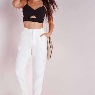 Missguided White Pants
