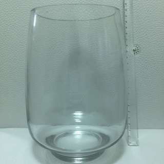 Clear Glass Vase - Large