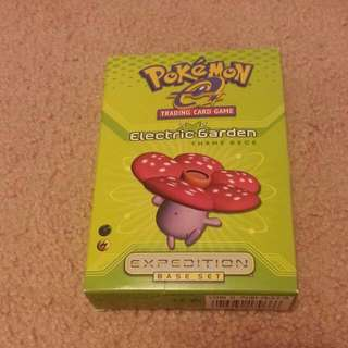 Pokemon Trading Card Game Electric Theme Deck Expedition Base Set