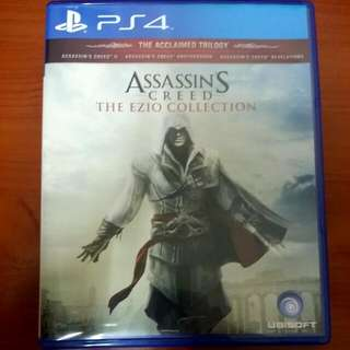 SONY PLAYSTATION 4 (PS4) GAME: Assassins Creed  The Ezio Collection