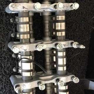 K20 Stock Vtec Camshaft , Cam Gear N Complete Rocker Arm