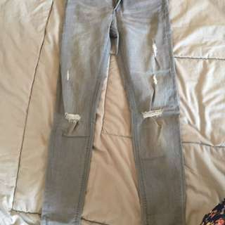 Ripped Jeans Hnm Size M