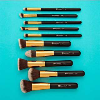 Sculpt And Blend 10 Piece Brush Set by BH Cosmetics