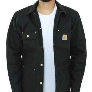 Carhartt Duck Chore Coat Jacket - Black