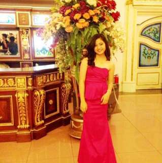 prom dress/ evening gown- karimadon