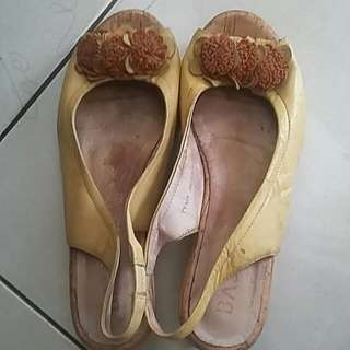 Sepatu Kulit Asli Size 39 Import