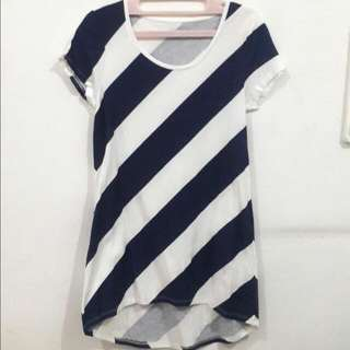 Giordano Stripe T-Shirt