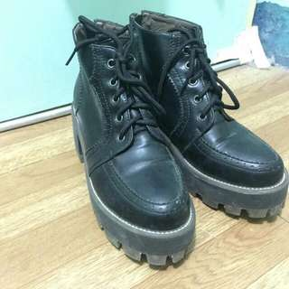 SALE! Black Leather Boots