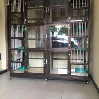 Kandang Kucing Keramik Tingkat Second 081381358327