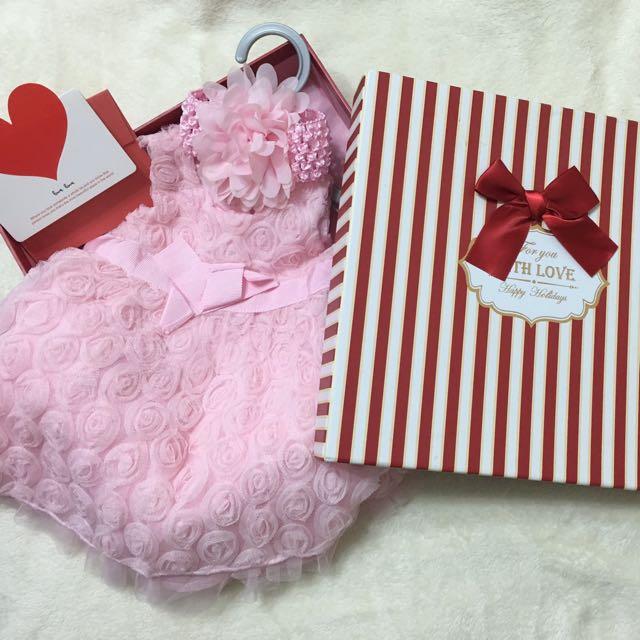 💔特價500元 全新✨6-9個月 Baby 洋裝