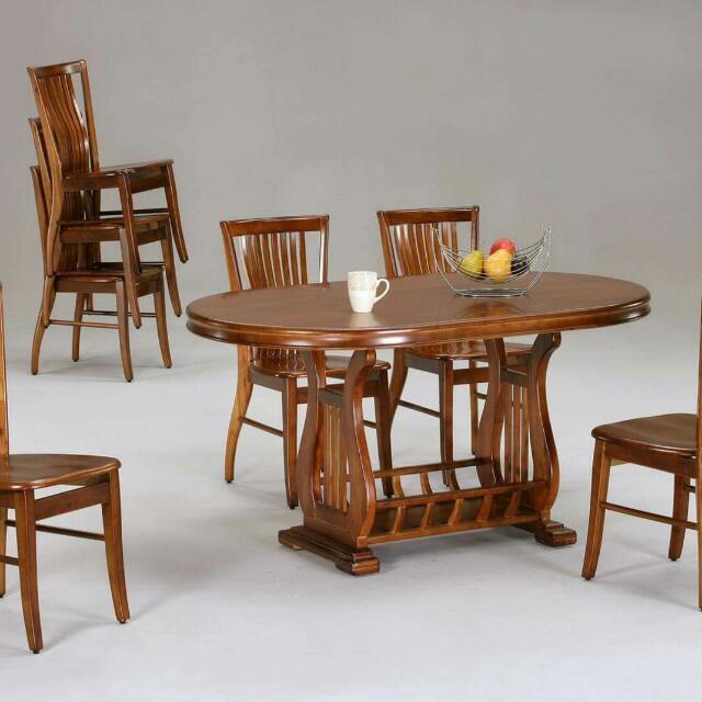 實木傢俱餐桌椅