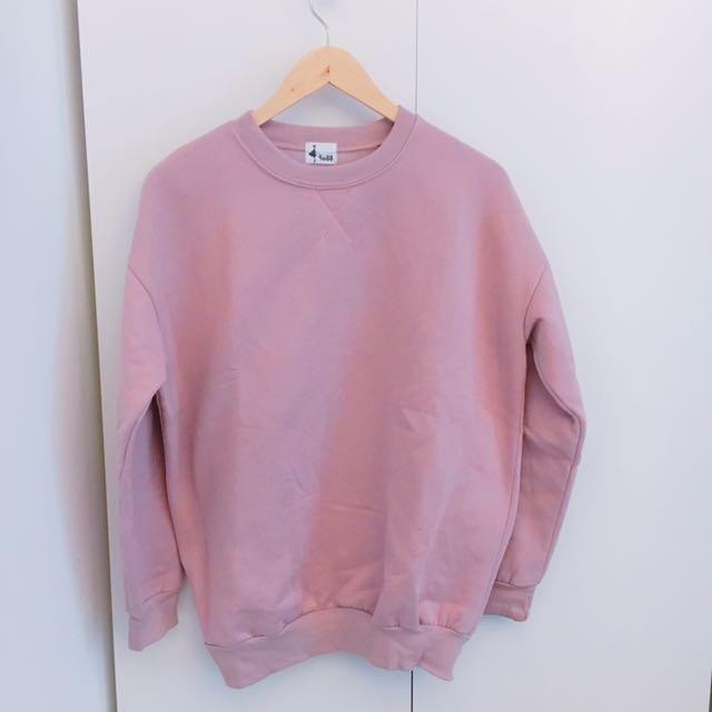 二手衣服出清粉紅色上衣