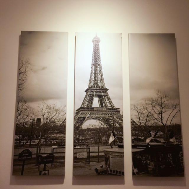 裝飾壁畫巴黎鐵塔