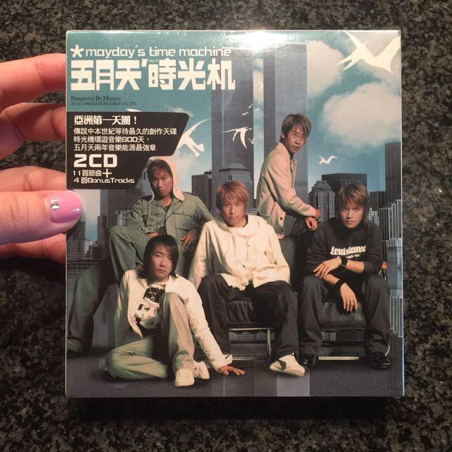 五月天 時光機專輯 全新 2003年 完全未開封