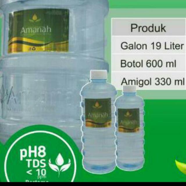 Air Amanah Dengan Ph Tinggi