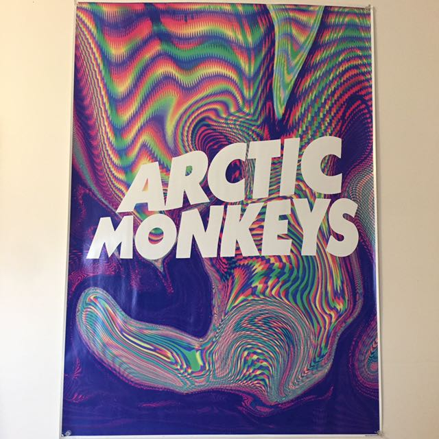 Arctic Monkeys Poster Medium Size