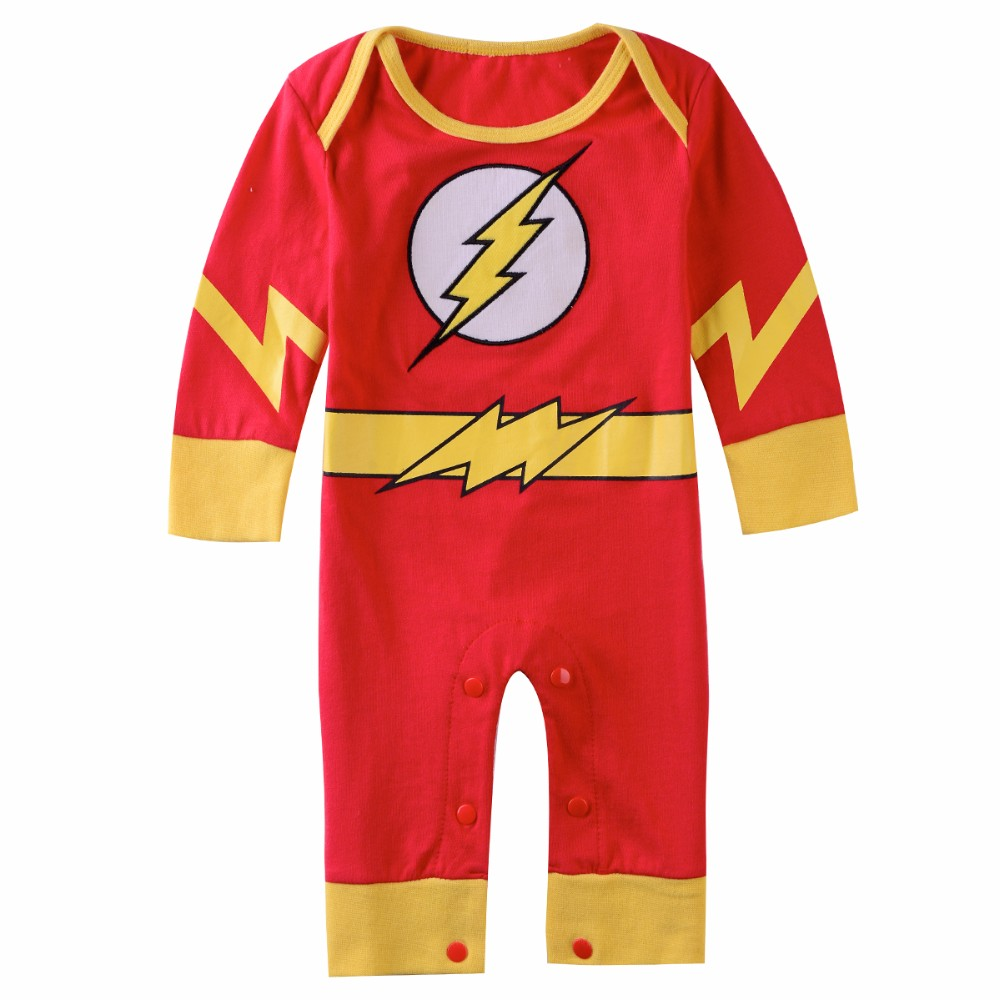 Baby Romper The Flash 1 Piece Babies Kids Babies Apparel On