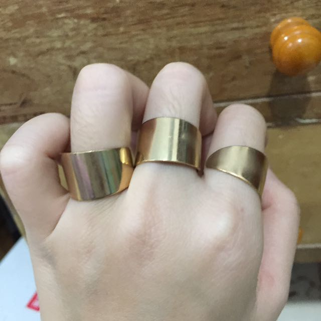 Birg Gold Rings