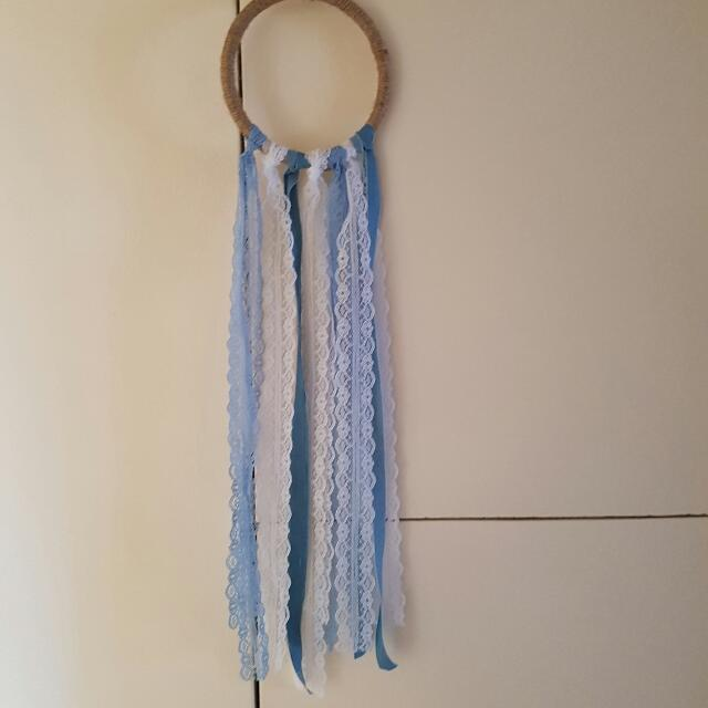 Blue And White Hollow Catcher