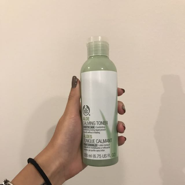 Body Shop Aloe Toner.
