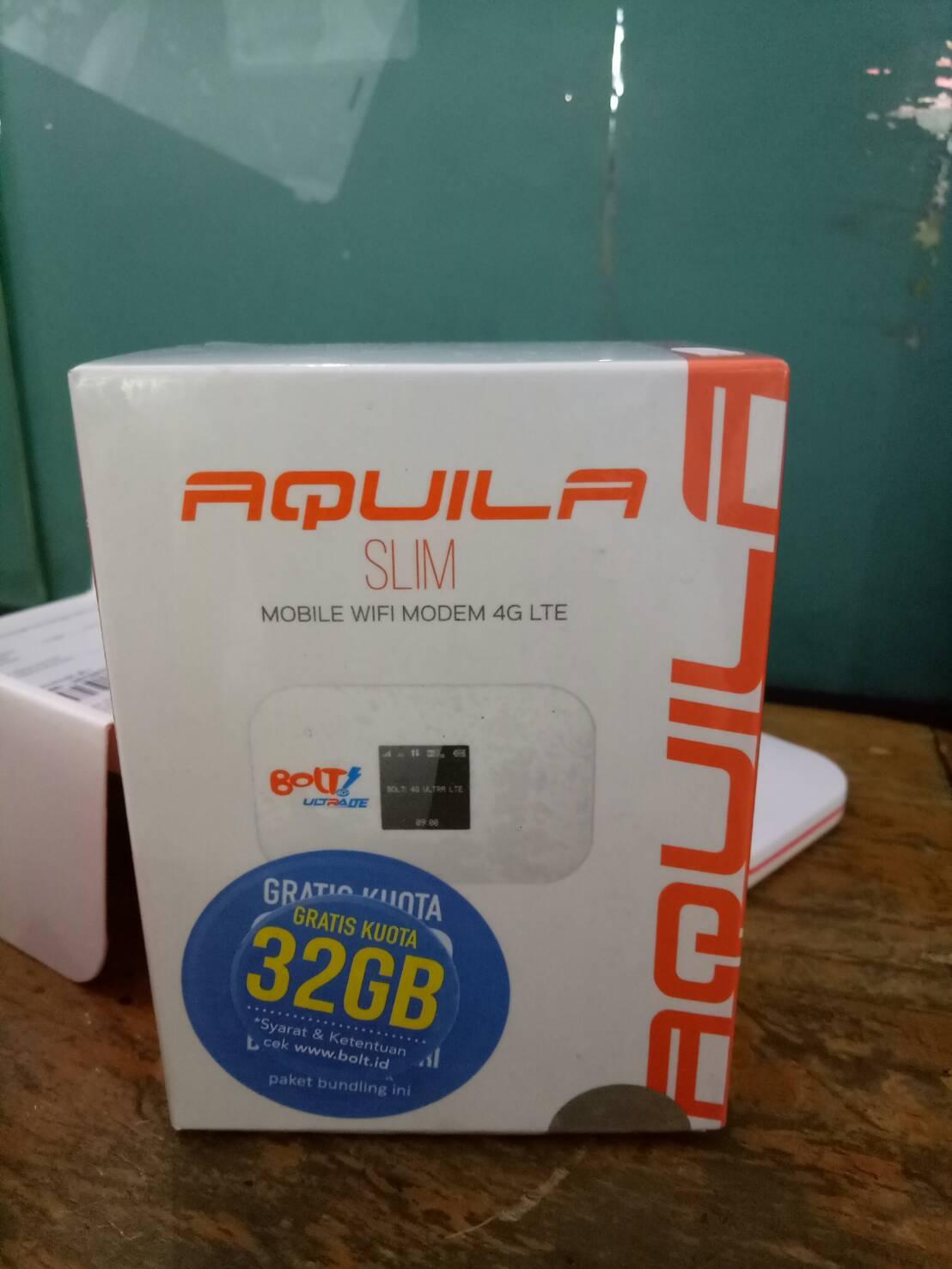 Bolt Mifi Aquila Bonus Kuota 32GB!