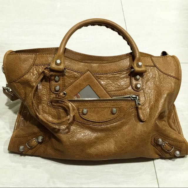 BRAND NEW AUTHENTIC BALENCIAGA CITY in CUMIN (Brown) for SALE ... ed4720977d84a