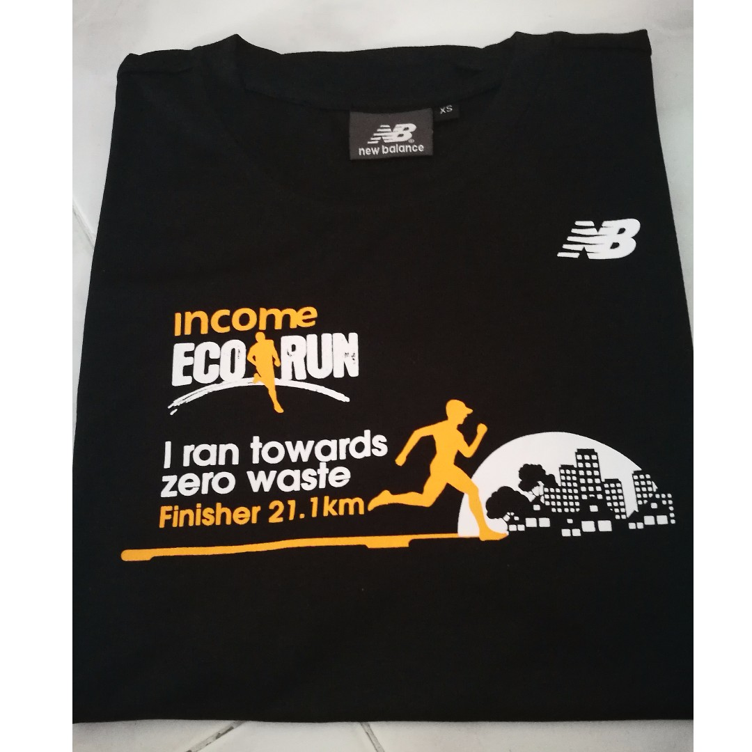 10599c768c7 Brand New Income Eco Run 2017 Finisher Tee XS (by New Balance ...