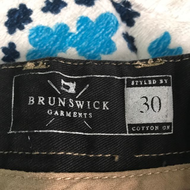 Brunswick Garments Banded Chino By: Cotton On