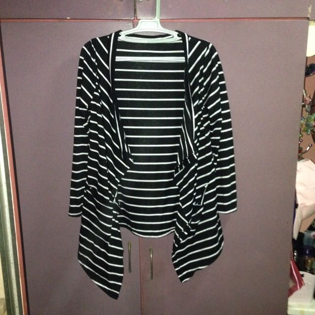 B&W Stripes Cover Up