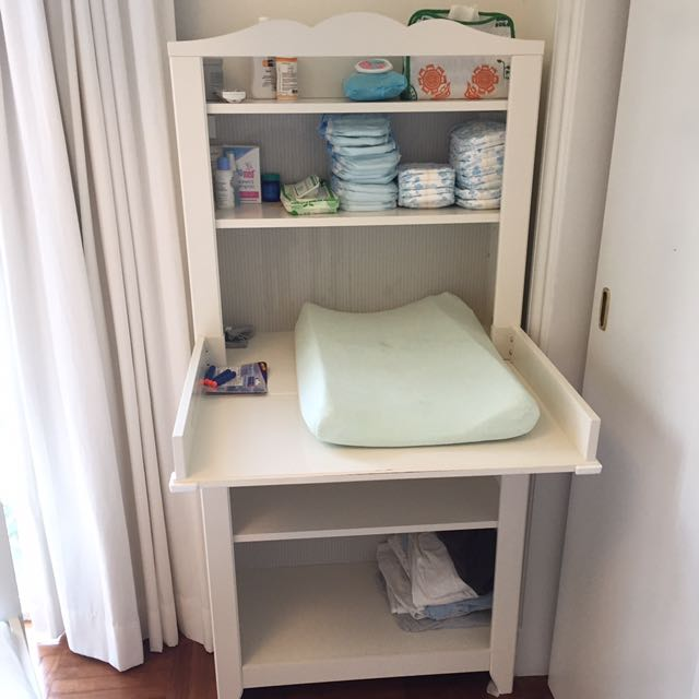 Cabinet With Shelf Unit (white)