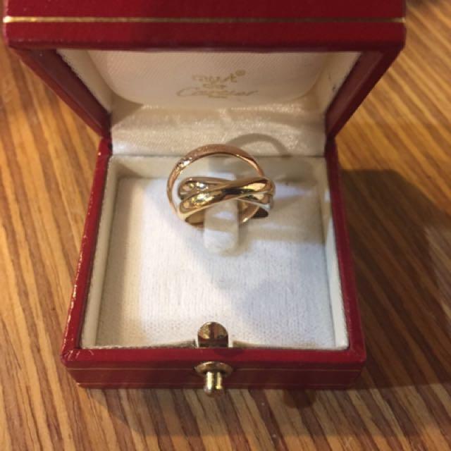 Cartier卡地亞戒指