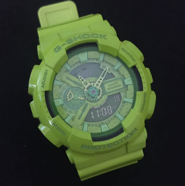 Casio G-Shock Hyper Colour Limited Edition GA-110B-3 Green Watch