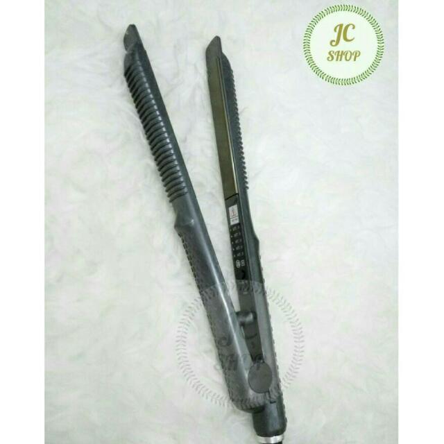 Catok Rambut Hairwins 2 in 1 HW-SR829 / Catokan Pelurus Pengeriting Straightener Curly 2in1 HWSR829 by Amara