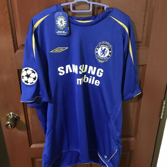free shipping 03f4b a4a4d Chelsea FC 2005 Robben Champions League Jersey, Sports ...