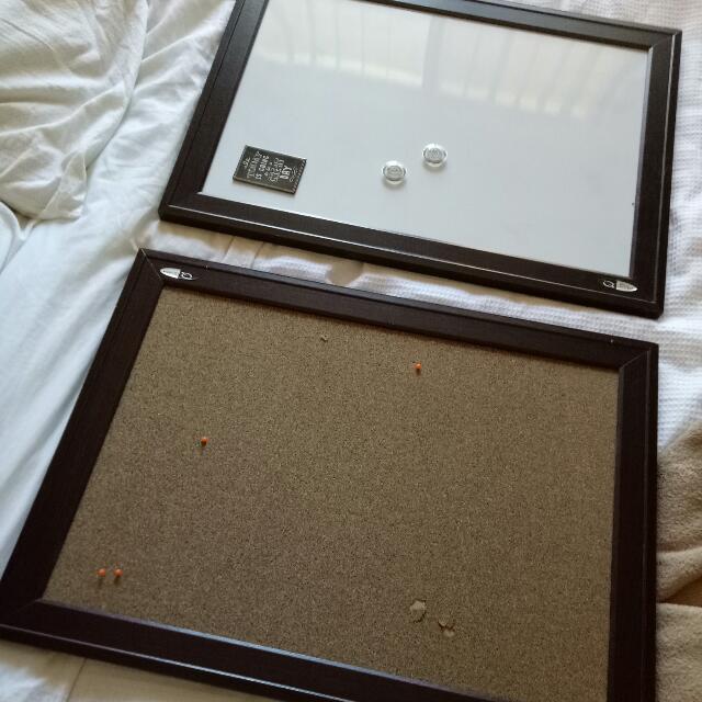 Cork And White Board