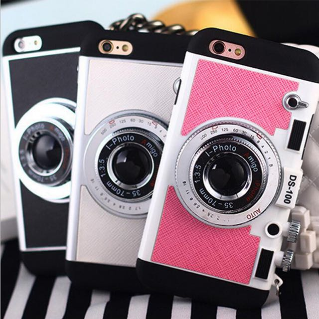 Cute Camera Case For iPhone 7+
